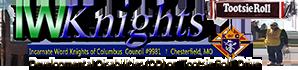 IW Knights Annual DD Drive